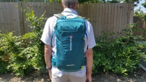 Montane Featherlite 23 Day Pack - Back View