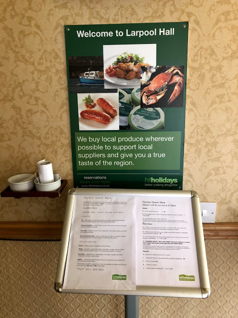 Larpool Hall Large Range of Meal Choices
