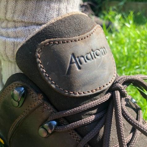 Anatom Q1 Braemar Ultralight Mens Walking Shoe - Tongue