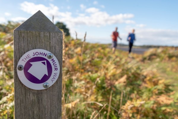 John Muir Way Launches New Walking and Cycling Day Trip Routes