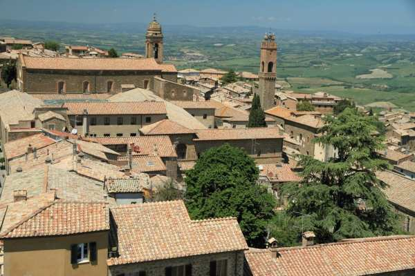 Montalcino in Tuscany, Italy, one of the top Tuscan towns