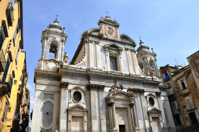 The architecture's just another reason to visit Napoli
