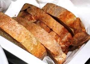 If you're allergic to gluten, avoid Italian bread!