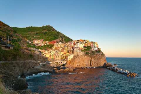 The Cinque Terre isn't just beautiful—it has some great food, too!
