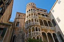 Architecture of a Renaissance palazzo in Venice