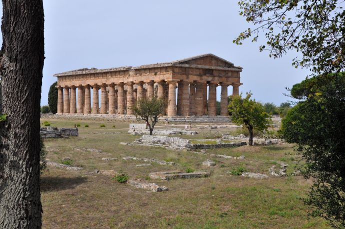Ancient Greek ruins in Italy