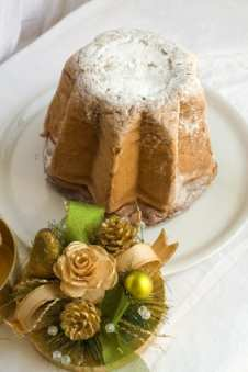 An Italian Christmas bread