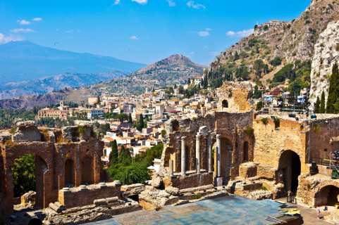 The region of Sicily