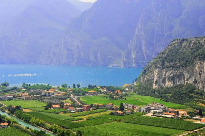 Lago di Garda in Italy