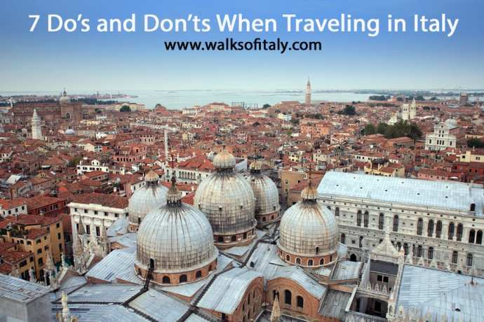 top 7 Italy travel tips