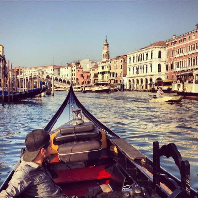 googlegondola 360walks video venice grand canal