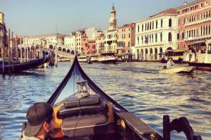 googlegondola 360walks video venice grand canal