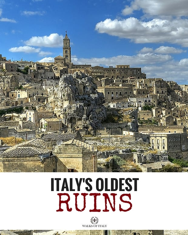 Matera is home to some of the oldest ruins in Italy. Find out where to see the others in our list.