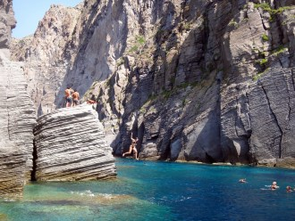 In the Aeolian islands Italy
