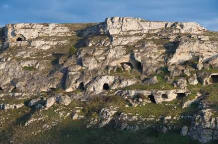 Sassi of Matera, prehistoric sites