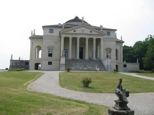 UNESCO World Heritage Sites in Northern Italy - Palladian Villas - La Rotonda