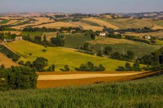 Le Marche Italy situated on the Adriatic Coast