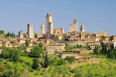 Towers of San Gimignano, Tuscany