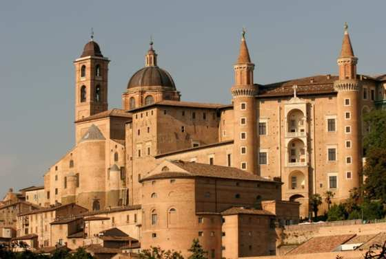 Unesco site central Italy Le Marche