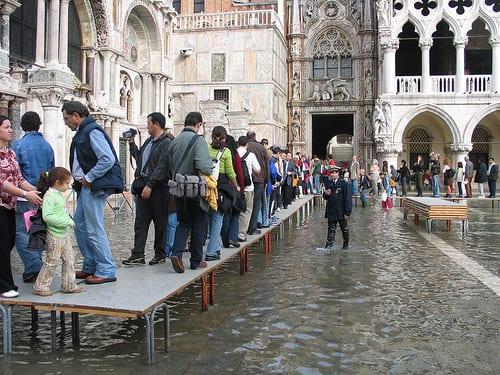 Floods hit Venice, Italy - China.org.cn |Venice Flooding October 2012