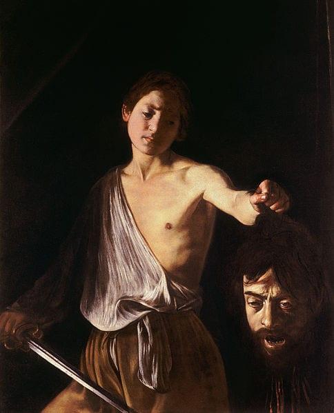 Caravaggio  - Page 4 Caravaggio_-_David_con_la_testa_di_Golia