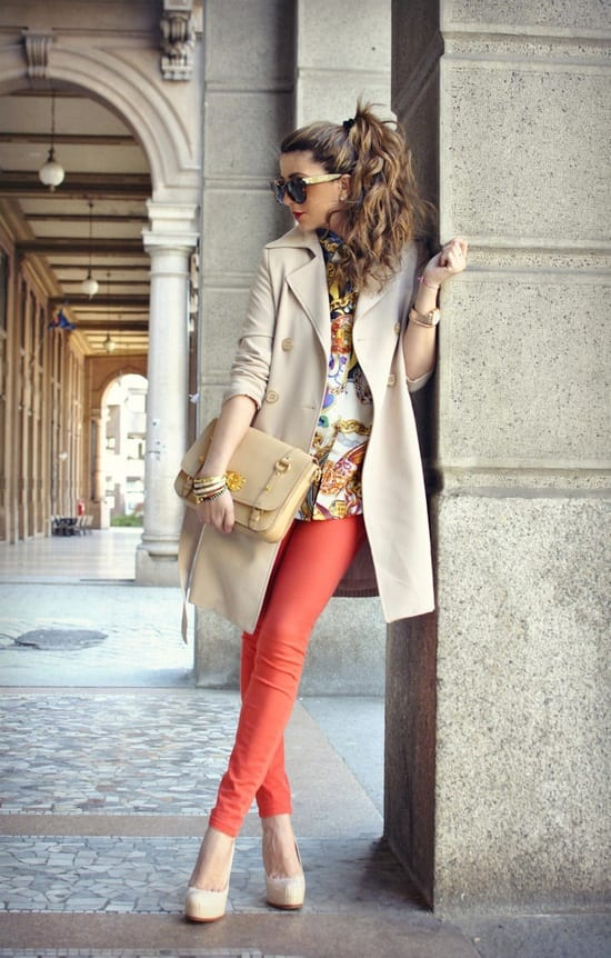 89115bb2a1 The perfect spring outfit in Italy  light jacket