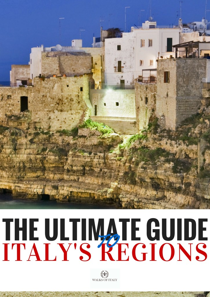 Puglia is one of the prettiest coastal regions of Italy. Check out all the regions and what they offer in the Walks of Italy guide to Italy's regions.
