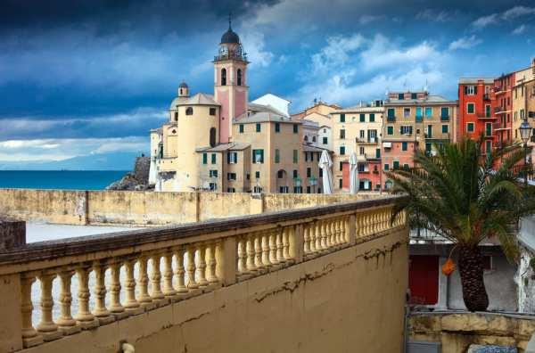 On the Golfo Paradiso of the Italian Riviera