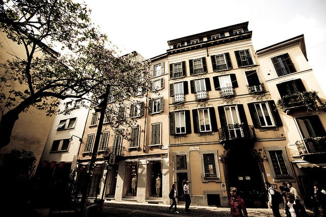 Brera, a great area for shopping in Milan