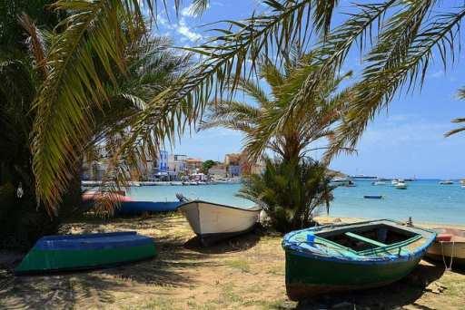Pelagie islands sicily