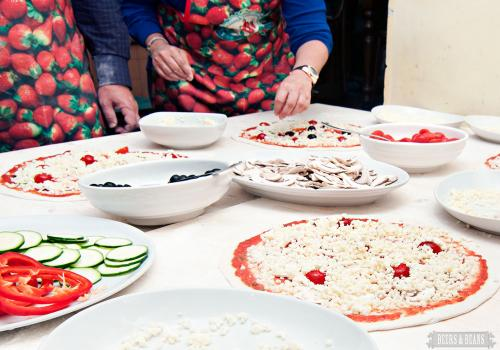 Rome cooking class and food tour