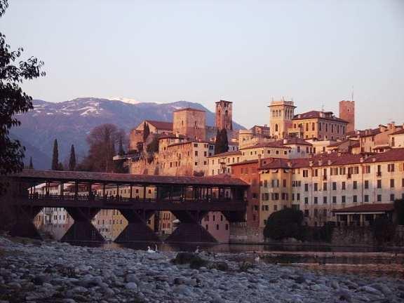 Italian town of Basasno del Grappa
