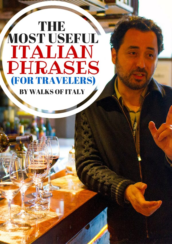 Ordering in Italian in a Venetian cicchetti bar is easy, and also an amazing way to enjoy the city. Find out the most useful Italian phrases for travelers in the Walks of Italy blog.