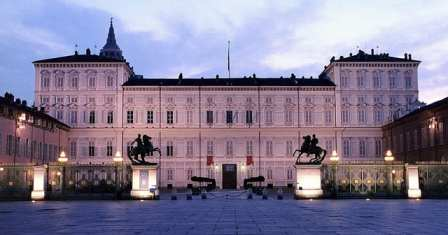 Palazzo Reale in Turin in Italy