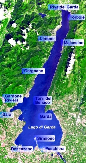 Map Of Italy Lakes Region.Lake Garda Italy Where To Stay How To Get Around And More