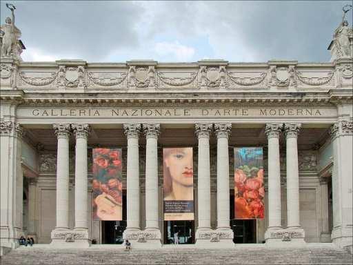Galleria Nazionale D'Arte Moderna Rome (flickr: dalbera)