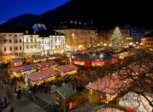 Christmas Market in Bolzano Italy