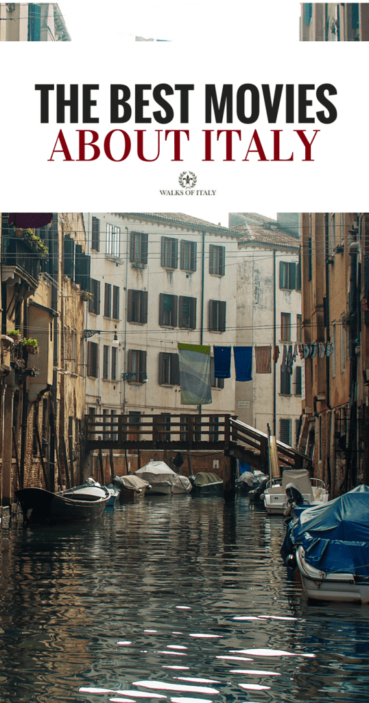 A canal in Venice makes the perfect poster for our list of 10 best movies on Italy. Find out if your favorite makes the list!