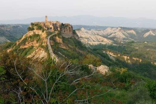 Civita di Bagnoregio, a gorgeous town in Lazio