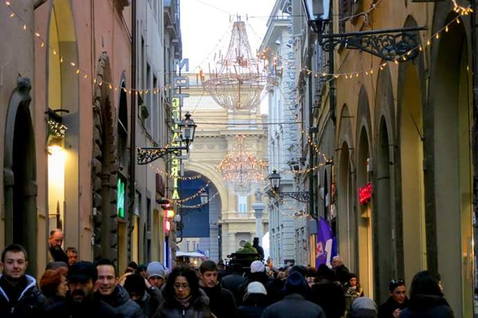 Shopping in Florence, Via del Corso