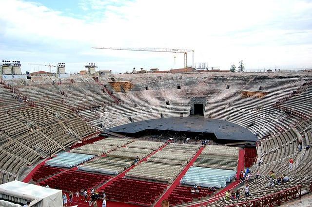 Arena di Verona (flickr @ McPig)