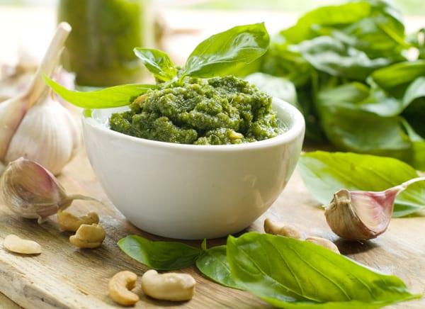Pesto, a Ligurian specialty