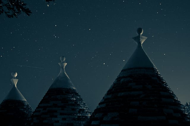 The unique cone-shaped trulli houses of Puglia. Photo by