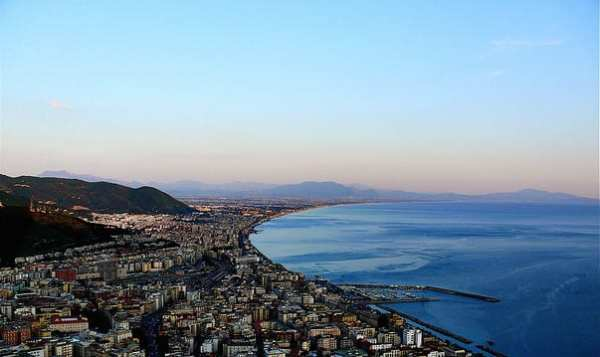 Salerno Panorama. Photo by Sabrina Campagna