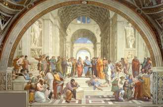 Raphael's School of Athens is one of the most impressive works in the Vatican Find out what else to see in the Vatican museums!