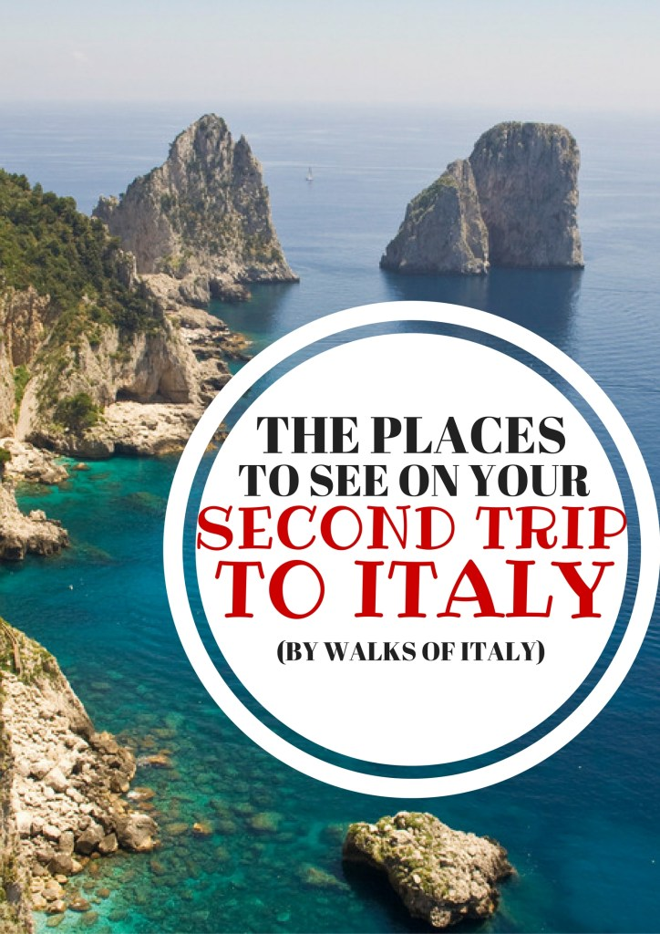 Hiking the Amalfi coast for view like this is an attraction in Italy you should do on your SECOND visit to Italy. Find out the other great spots for you second visit at the Walks of Italy blog.