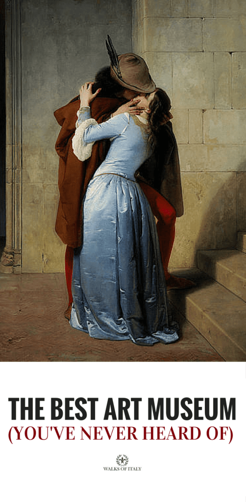 The Kiss, by Francesco Hayez is an incredibly sensual painting kept in the Picatoteca di Brera, one of the best art museums in the world. Find out what other masterpieces it holds.