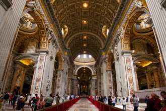 St. Peter's Cathedral is a great spot in the Vatican for kids if you know how to prep them for it.