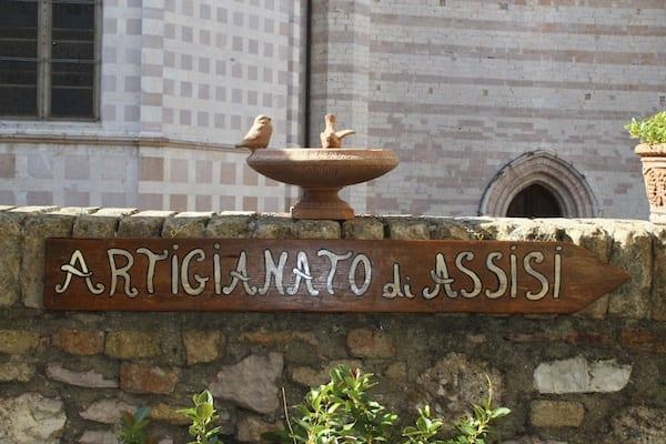 """Artisanship of Assisi"" Photo by Gina Mussio"