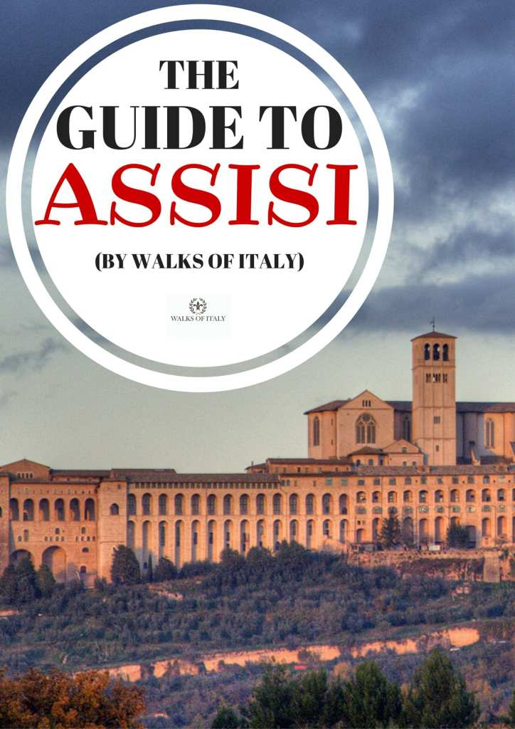 The basilica of St. Francis of Assisi is the marquee attraction in Assisi. Find out all about this amazing Umbrian town in the Walks of Italy guide to Assisi | Photo by By Roberto Ferrari from Campogalliano (Modena), Italy (Assisi) [CC BY-SA 2.0 (http://creativecommons.org/licenses/by-sa/2.0)], via Wikimedia Commons